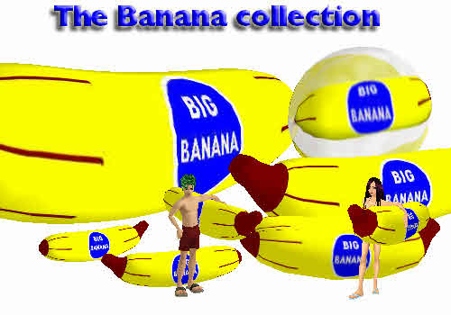 Banana collection picture